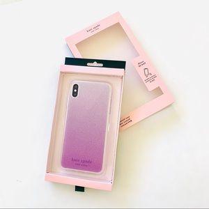 kate spade Ombre Glitter iPhone Xs Max Case ♠️